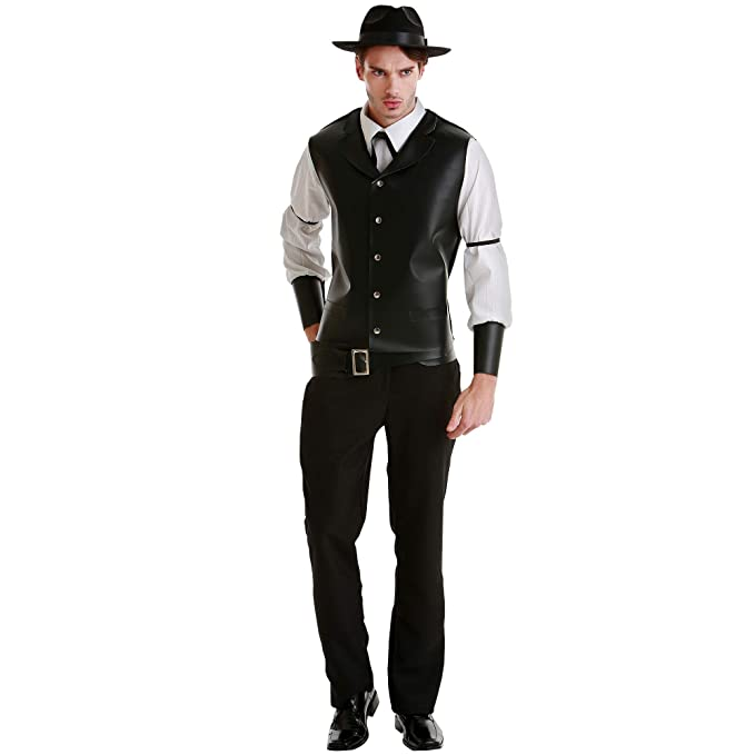 Victorian Men's Clothing, Fashion – 1840 to 1900 Boo Inc. Daring Desperado Mens Halloween Costume | Western Gunslinger Outfit $34.99 AT vintagedancer.com