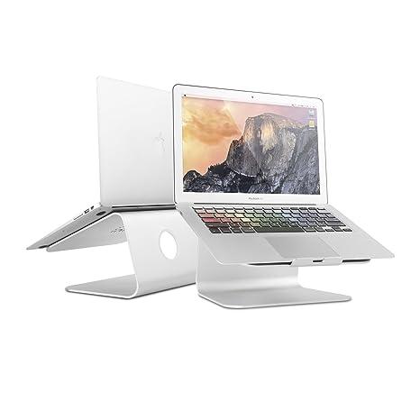 Spinido® TOP-Station Soporte, Laptop stand de refrigeración con una rotación de 360