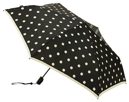 Knirps Flat Duomatic paraguas plegable de apertura de un solo toque y cierre [tipo]
