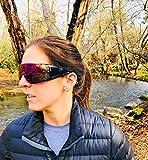 Retro Viper Mirrored Rainbow Multi-Color Lens
