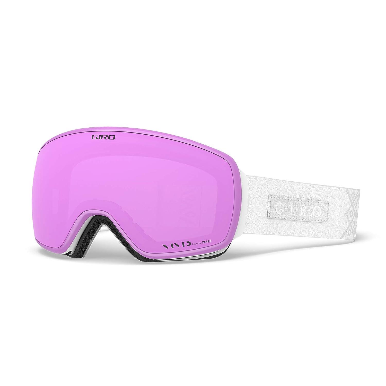 White Velvet Vivid Pink Vivid Infrared One Size Giro Eave Snow Goggles
