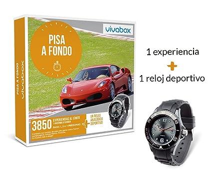 VIVABOX Caja Regalo -Pisa A Fondo- 1.590 experiencias. Incluye: un Reloj analógico