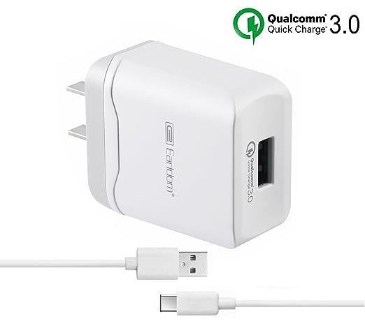 Amazon.com: LG G5, G6, V20 Cargador, Cargador de pared