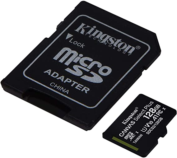 Kingston 128GB Karbonn A91 Storm MicroSDXC Canvas Select Plus Card Verified by SanFlash. 100MBs Works with Kingston