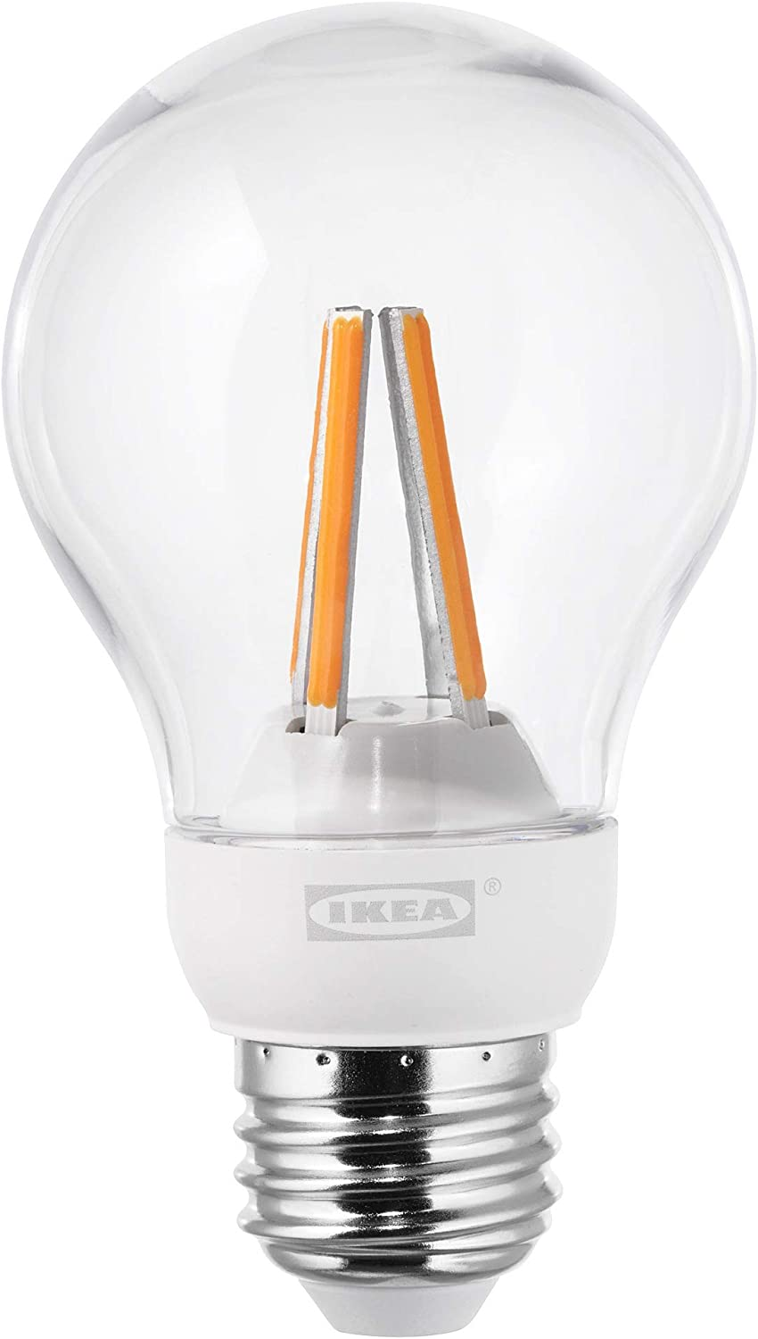 Globe Clear IKEA 503.887.63 Ledare Led Bulb E26 600 Lumen Dimmable Warm Dimming