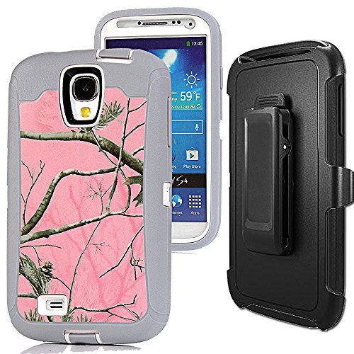 Samsung Galaxy S4 Case,S4 Holster Cover,Auker Shockproof Dro