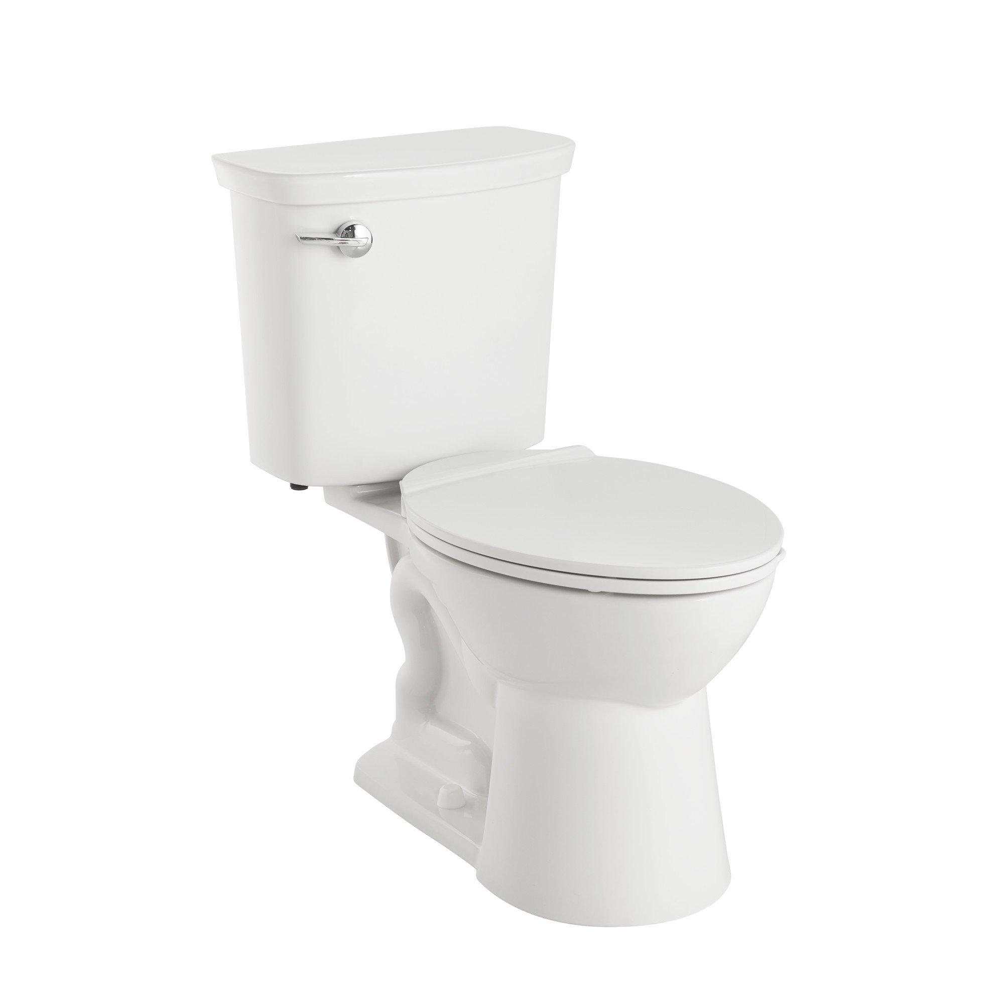 American Standard 238AA114CP.020 Vormax Plus Uhet Combo W/Seat-Wht, White