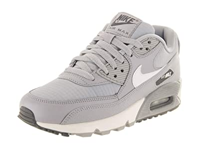 e0417da7a756d Nike Women's Air Max 90 Sneakers, Wolf Grey/Summit White-Dark Grey (US 10)