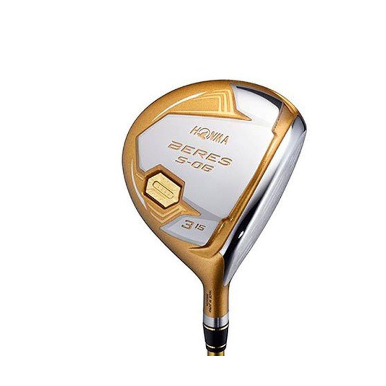 本間ゴルフ フェアウェイウッド BERES S-06 フェアウェイウッド ARMRQ X-43 4S シャフト カーボン メンズ S-06 FW 右 ロフト角:21度 番手:7W フレックス:S B079675JV9
