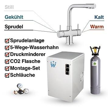 AuBergewohnlich Untertisch Trinkwassersystem SPRUDELUX Ohne Filtereinheit Inklusive  5 Wege Armatur NOBIUS L Auslauf