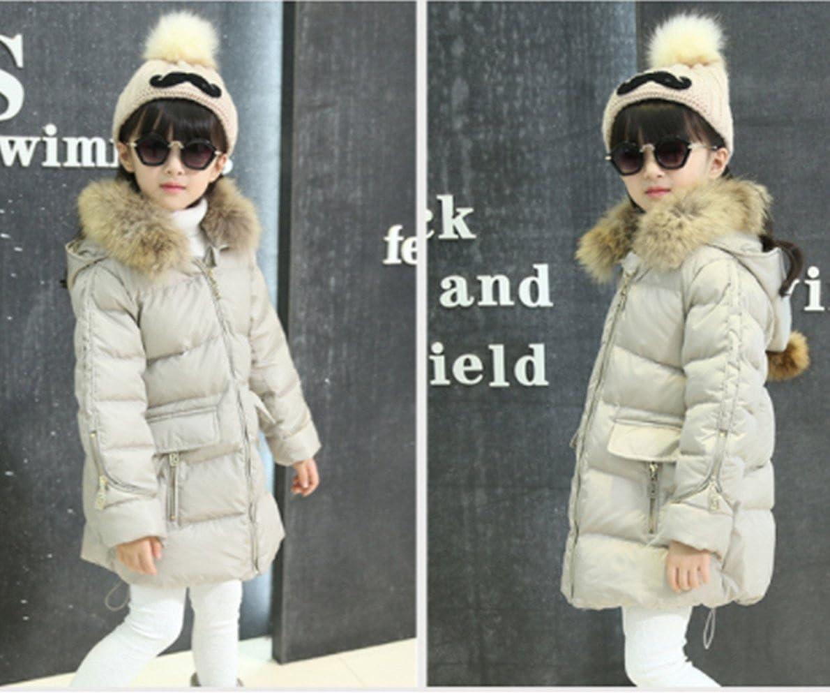 adec1bd3344f Amazon.com  Kids Girls Winter Warm Down Parka Thick Hooded Outwear ...