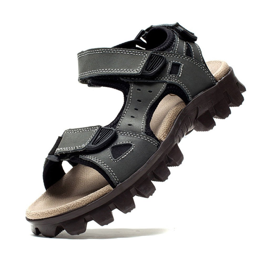 Sandalias para Hombre Zapatos De Playa Sandalias Informales para Hombres De Verano Zapatos para Hombres 40 EU|Grey Grey