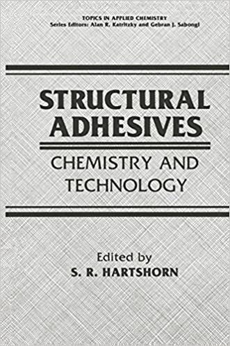 Structural Adhesives: Chemistry and Technology (Topics in Applied