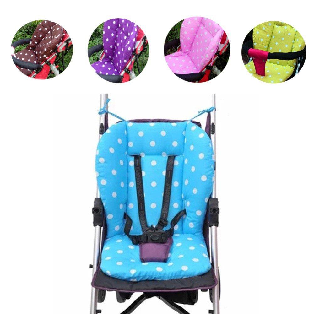 Buggy Auflage Universal Kinderwagen Sitzauflage Baumwolle Blau