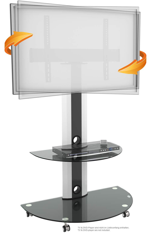 bbfbcb6d1 RICOO Soporte de Base para TV con Rodillos FS0502 Mueble para televisores  Brazo Colgante Soportes Inclinable y Giratorio 3D OLED LED LCD Plasma 4K  Curvo ...