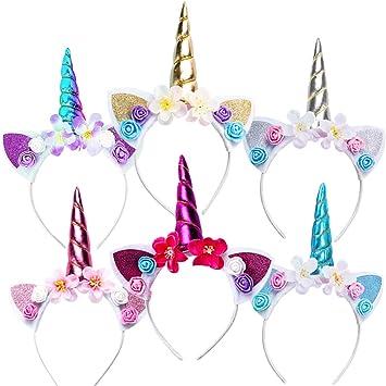 Ofertas en diademas de unicornio