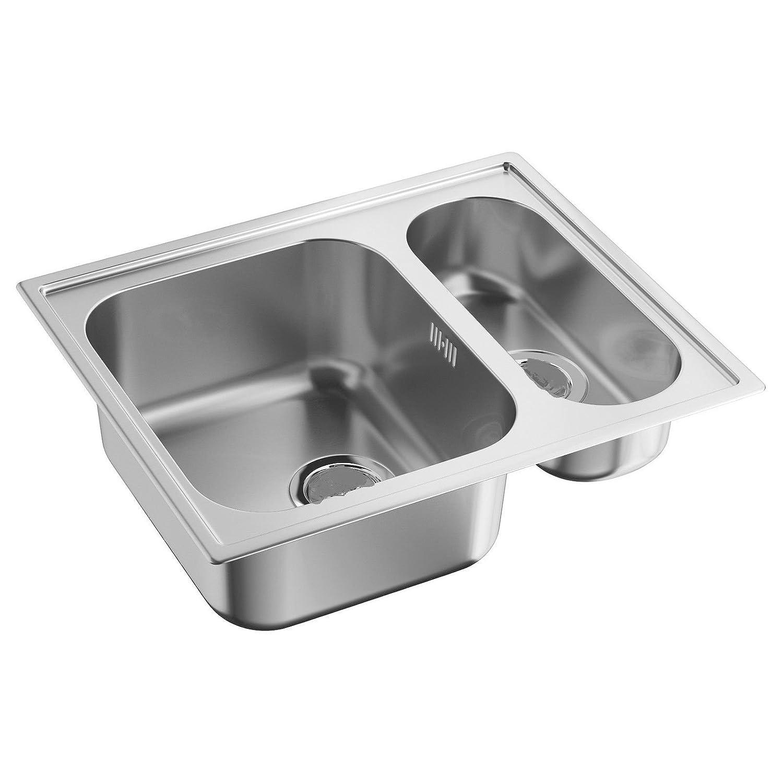 Ikea Boholmen 1 5 Sink Unit With Sink Unit 1 1 2 Stainless Steel