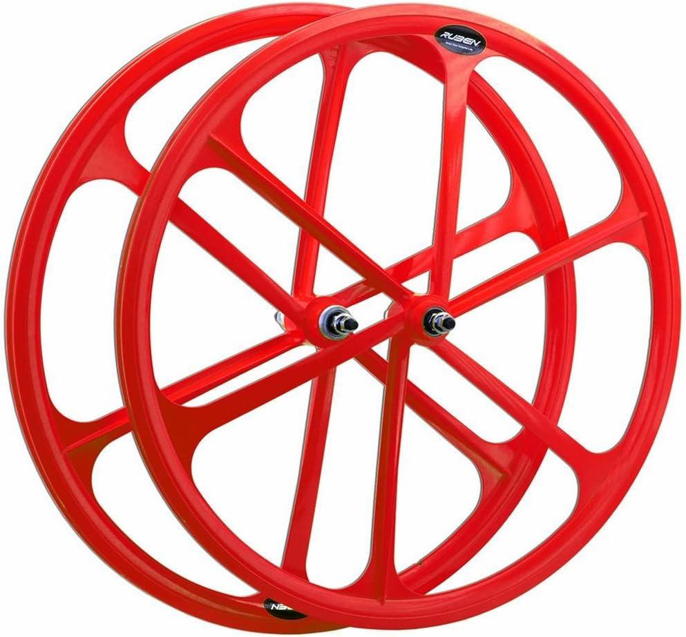 roue arri/ère fixie road city pignon fixe 700c couleurs fluorescentes