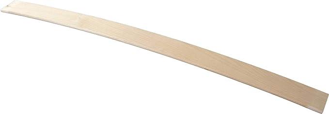 Reti Gritti - 10 listones curvados en madera de haya, repuesto para láminas de somier. Medidas: 6,7 x 79 x 0,8 cm
