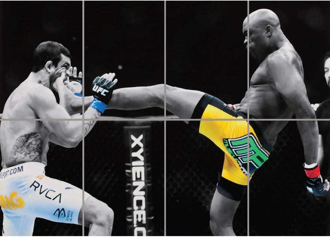 Anderson Silva UFC Kick Fighter Giant Wall Art Poster Print