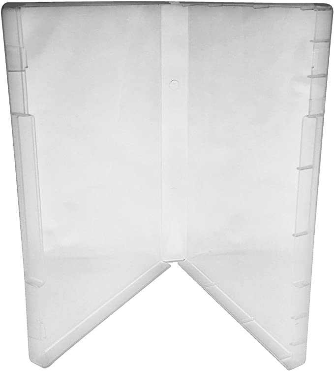 CheckOutStore Plastic Storage Cases for Rubber Stamps 10 Clear//Spine: 21 mm//No Tabs