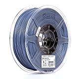 eSUN 1.75mm Gray PLA PRO (PLA+) 3D Printer Filament 1KG Spool (2.2lbs), Gray