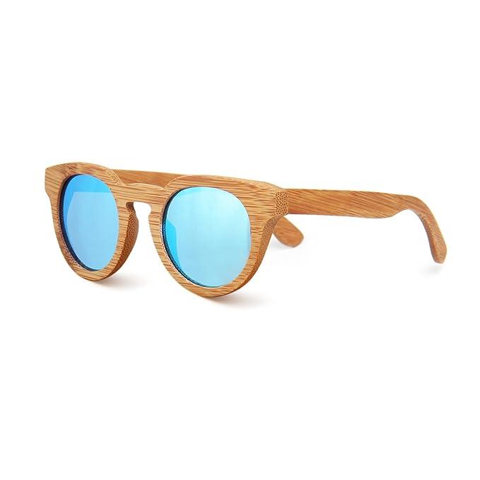 SUKUTU Herren Sonnenbrille One Size Gr. One Size, Bamboo Blue