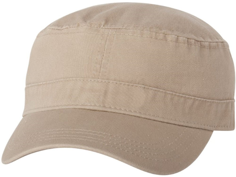 Joe's USA tm Cotton Twill Corps Hat Military Hat-Khaki
