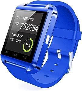 U8 Bluetooth Smart Wrist Watch - Blue
