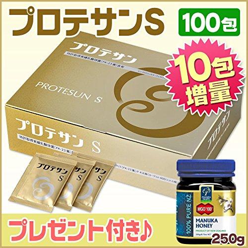 プロテサンS [100包+10包増量] +マヌカハニー(100+)250g B00L250Z0W