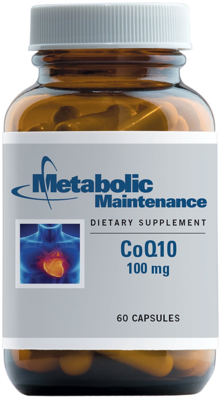 Metabolic Maintenance - CoQ10-100 mg Coenzyme Q10, 60 Capsules