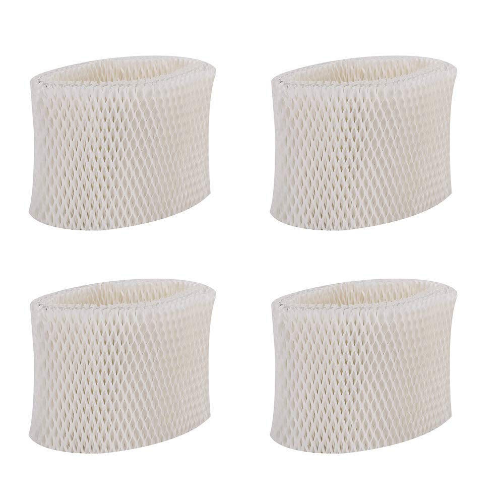 KONDUONE 4-Pack of WF2 Filter Replacement for Kaz Vicks Humidifier Filter -Fits for Kaz 3020, Vicks V3100 V3500 V3500N V3600 V3800 V3850 V3900 VEV320, Honeywell HCM-300T, HCM-315T, HCM-350 by KONDUONE