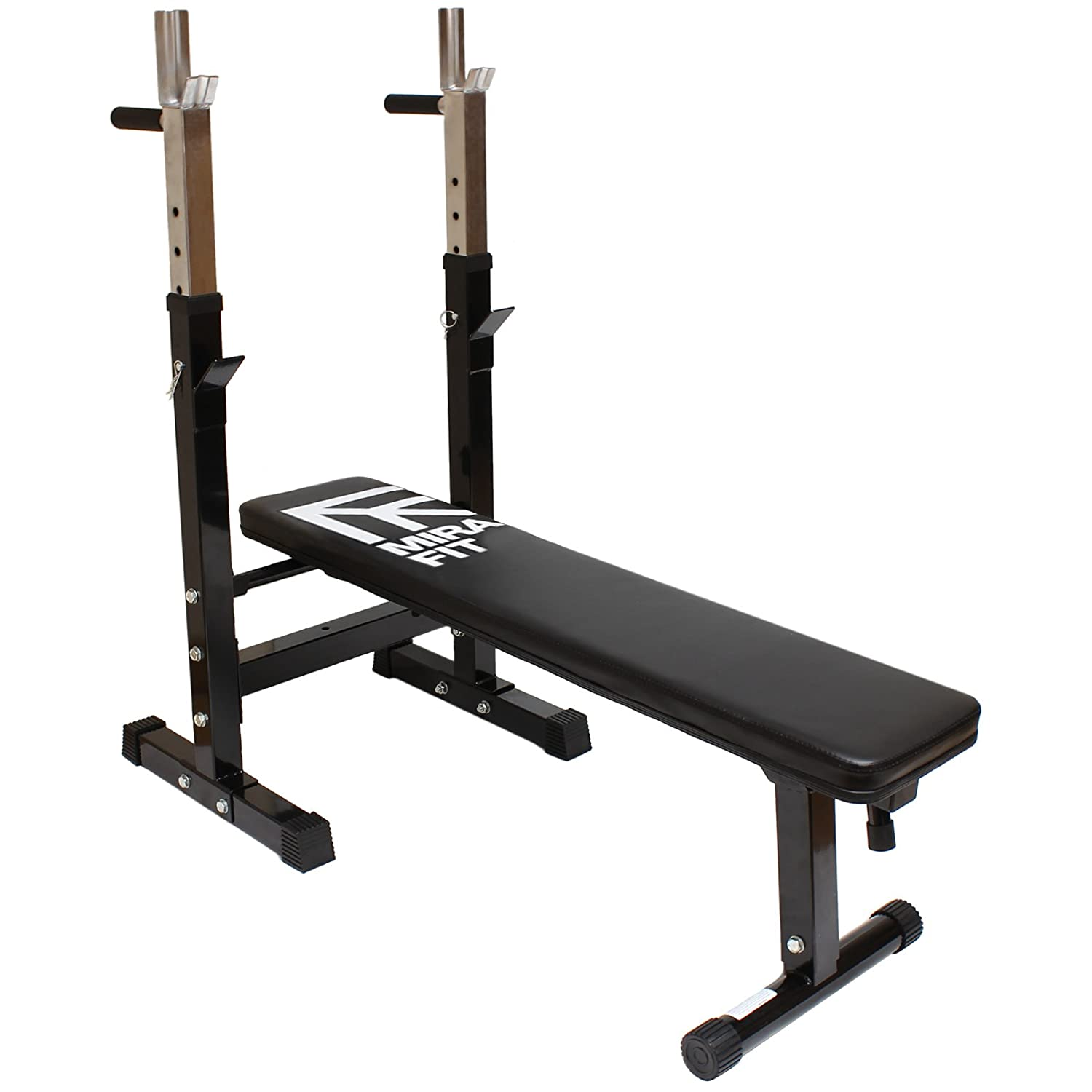 62f23f730fe Mirafit Adjustable Folding Weight Bench with Dip Station
