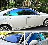 HOHO VLT25% Chameleon Car Front Side Window Film Change Color Car Window Nano Ceramic Tint Foils 50cmx2000cm