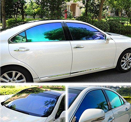 HOHO VLT25% Chameleon Car Front Side Window Film Change Color Car Window Nano Ceramic Tint Foils - Color Tints