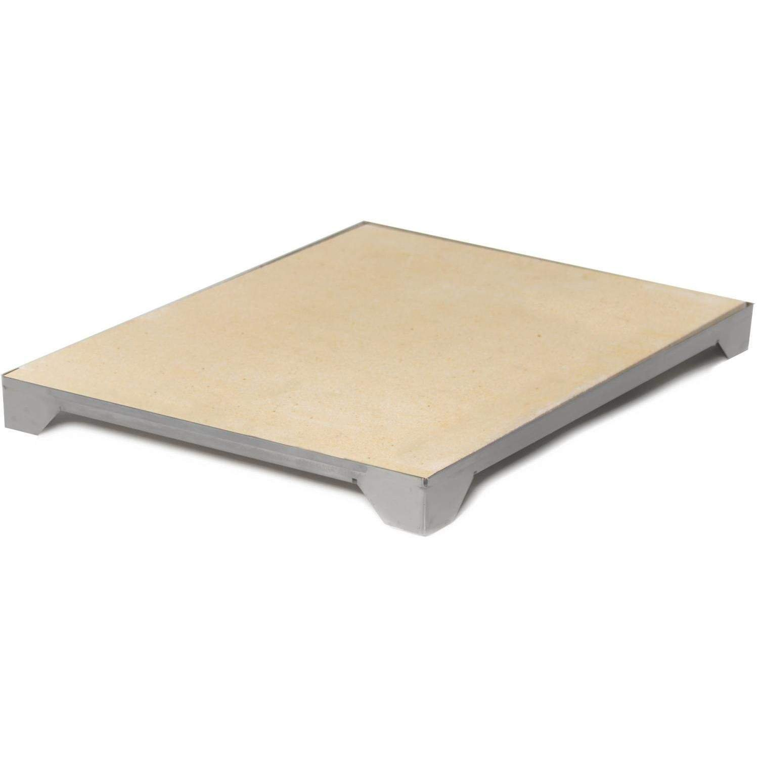 Blaze Professional Ceramic Pizza Stone with Stainless Steel Tray (BLZ-PRO-PZST), 15-inches by Blaze