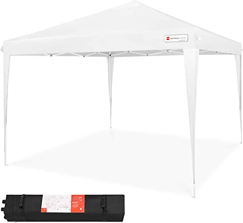 Best Choice Products 10x10ft Outdoor Portable Lightweight Folding Instant Pop Up Gazebo Canopy Shade Tent w/Adjustable Height