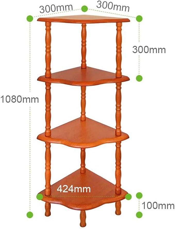 Estantes de pared MEIDUO 4 Niveles Escalera Estante Librero Estantería de exhibición de Almacenamiento Durable: Amazon.es: Hogar