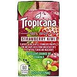 Tropicana 100% Juice Box, Strawberry Kiwi, 4.23oz, 44 Count