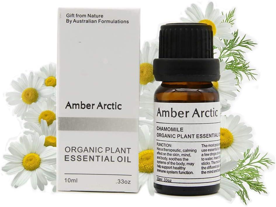 Aceite esencial de manzanilla 10 ml - 100% puro, natural y sin diluir, se usa en aromaterapia, mezclas de masaje y difusores