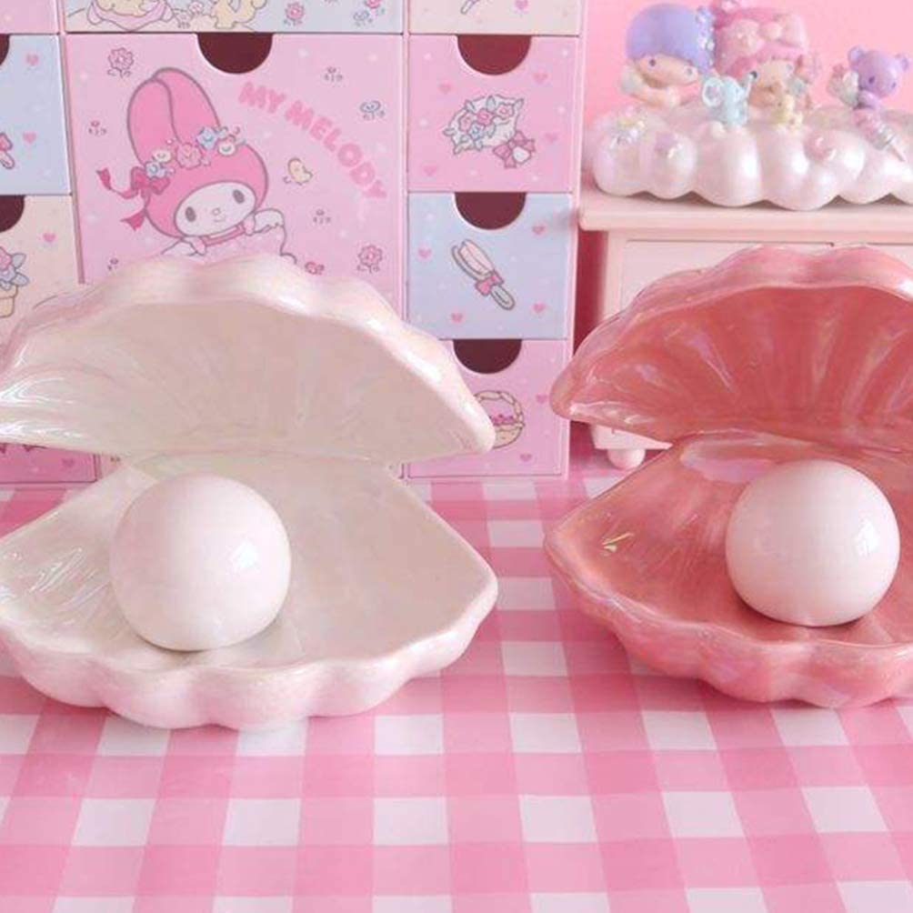 Shell Pearl Design Table Lamp Desktop Light Night Lamp Decorative Bedside Lamp