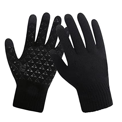 5b54a3c7bb2b6 Image Unavailable. Image not available for. Color: HONGYU Winter Sport  Touchscreen Gloves ...