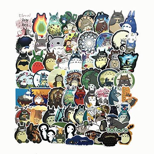 CJB Cute Totoro Skateboard Vinyl Stickers (US Seller)
