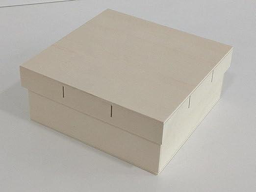 Caja madera grande. Tapa para cinta. Para pintar. Manualidades y ...