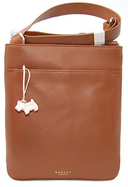 151403d379bb RADLEY  Pocket Bag  Small-Medium Tan Leather Cross Body Bag RRP £89 ...