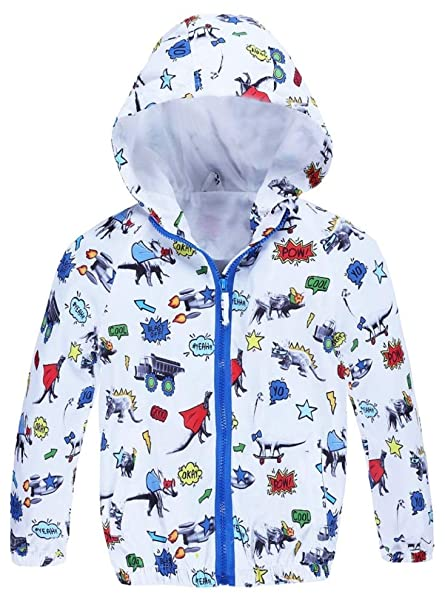 b800efe9d Amazon.com  Jingle Bongala Girls Boys Hooded Jacket Lightweight ...
