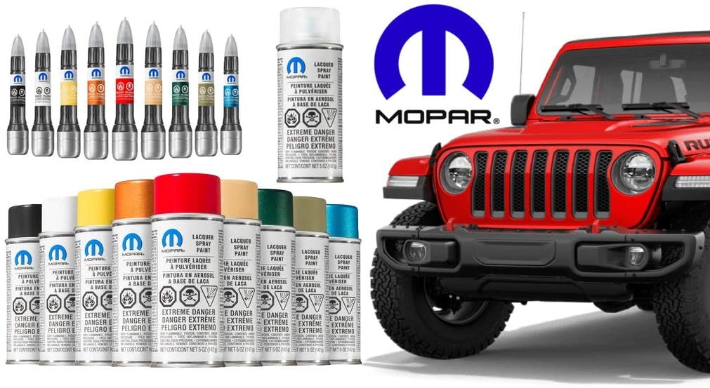 JEEP DODGE CHRYSLER PW7 BRIGHT WHITE CLEAR COAT TOUCH UP PAINT PEN /& BRUSH MOPAR