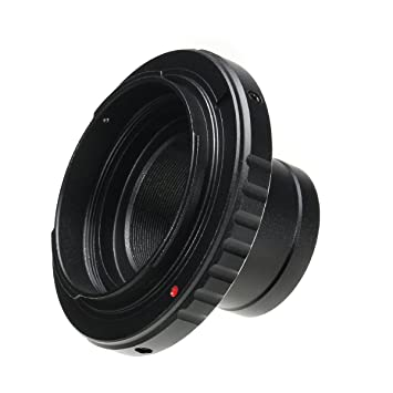 ILS - Telescopio cámara Lens Adaptador Soporte metálico 1,25 ...