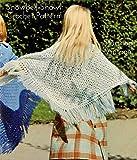 Snowbell Shawl: Vintage 1970s Wedding Bridal Crochet Pattern