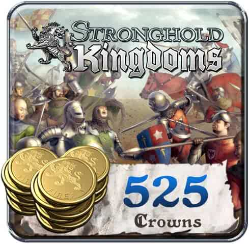 525 Stronghold Kingdoms Crowns: Stronghold Kingdoms [Instant Access]